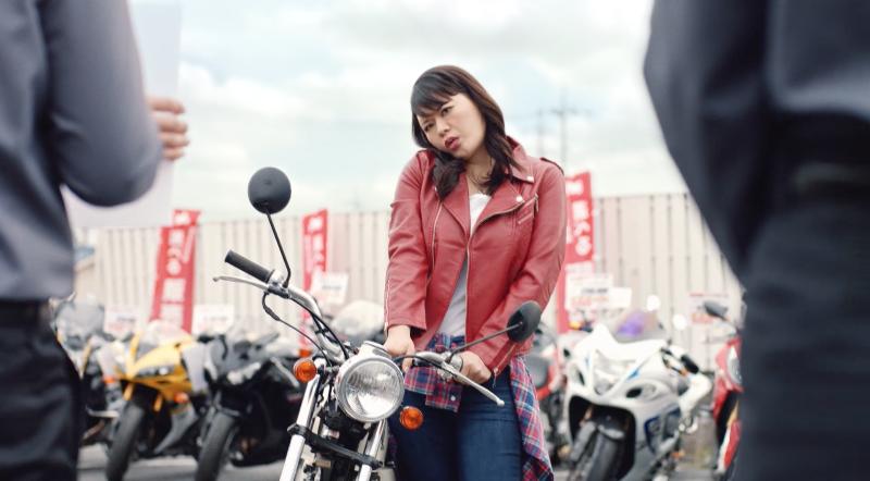 王 cm バイク